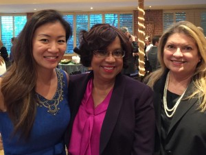Ann Chao, Rhonda Hunter, and Liza Farrow-GIllespie, of Farrow-Gillespie & Heath LLP