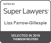 Liza Farrow-Gillespie Super Lawyers 2019