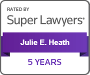 Julie Heath Super Lawyers 5 years