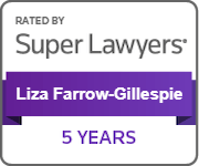Liza Farrow-Gillespie Super Lawyers 5 years