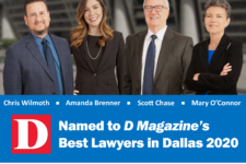 Best Lawyers in Dallas 2020 by D Magazine