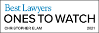 Christopher Elam Best Lawyers 2021 Ones to Watch