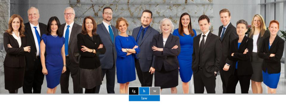 Farrow-Gillespie Heath Witter LLP 2020 Firm Photo
