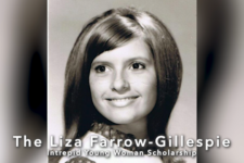 Liza Farrow-Gillespie Intrepid Young Woman Scholarship