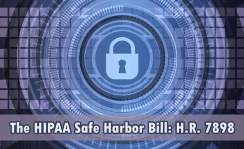 HIPAA Safe Harbor Bill | Tahlia Clement