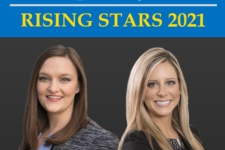 Jessica Dunne and Jennifer Lewis Rising Stars 2021 Super Lawyers