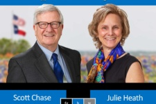 Scott Chase and Julie Heath listed 2021 Texas Super Lawyers